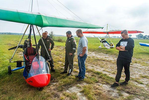 Loty motolotnią AirMARIO - loty dla grupy przyjaciół